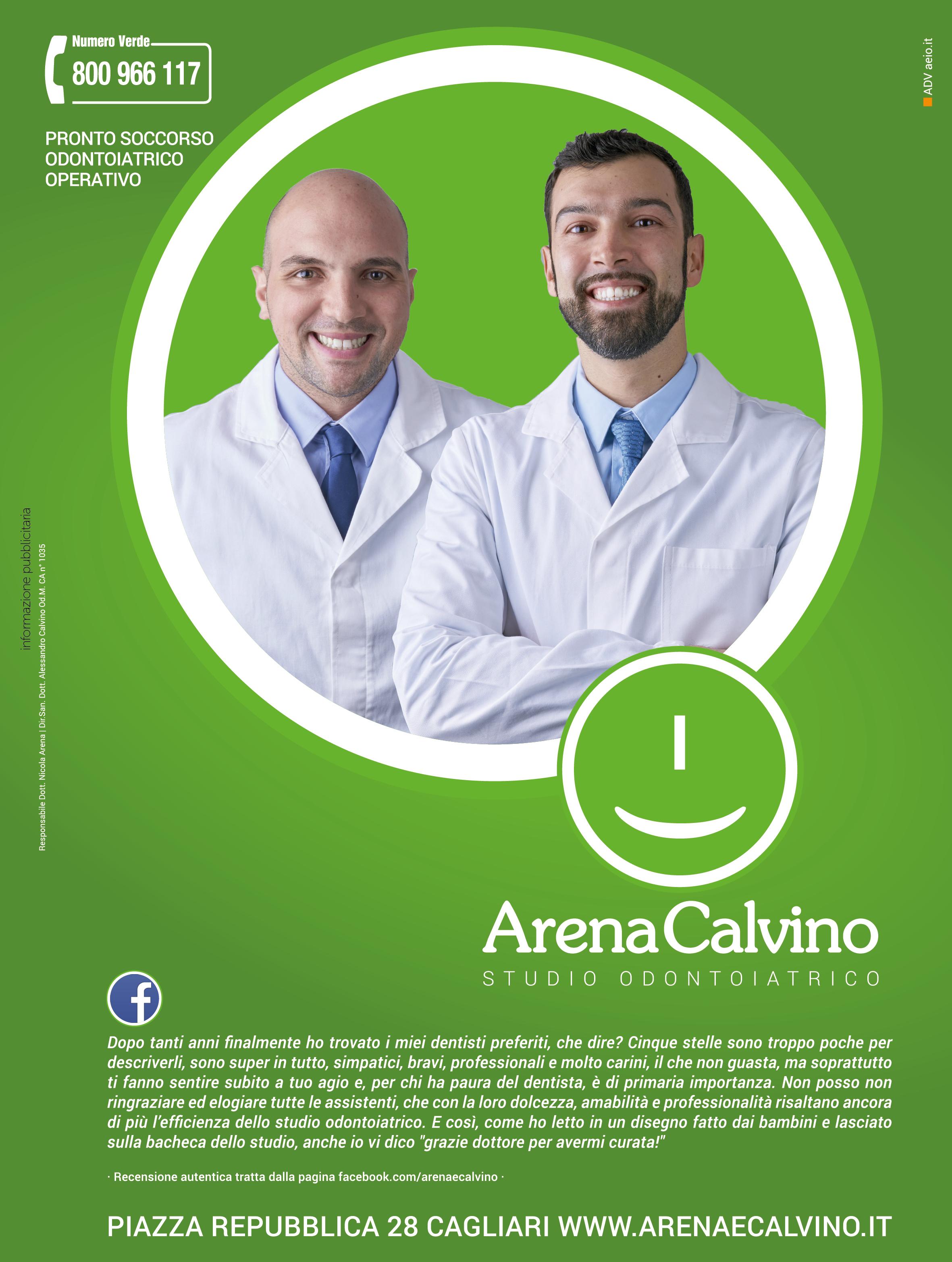 Studio Odontoiatrico Cagliari Arena e Calvino